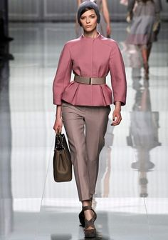 Christian Dior F/W RTW...Love the woolly hat!