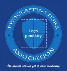 Procrastinators Association (logo pending)