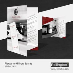 Gilbert James Voyages - Plaquette commerciale >> http://www.rollingbox.com/realisations/gilbert-james-voyages-plaquette-commerciale/