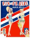 PIN UP GIRL, Saalfield 1942