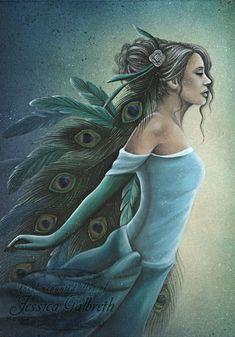Art Print - Vision by Jessica Galbreth http://www.fairiesandfantasy.com/store/Vintage-Angels-JG/