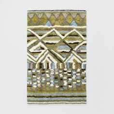 I'm in love with this rug but I have nowhere to put it. Sigh.... Diamond Wool Shag Rug | West Elm