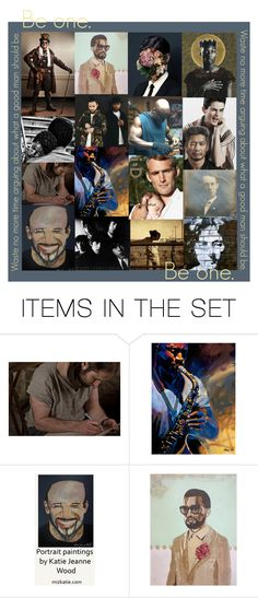 Be one. by artsdesireable on Polyvore featuring art and etsyevolution