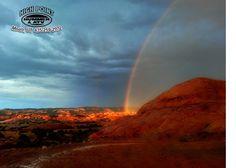 Beautiful rainbow in Moab, Utah Photo courtesy of: Andy Thomas