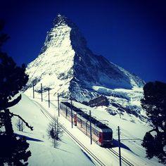 Matterhorn, Zermatt, Švajčiarsko
