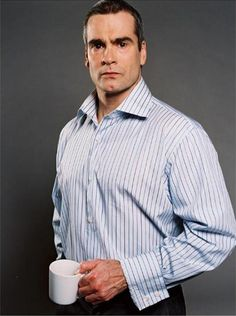Oh my, oh my... I wonder what Henry Rollins is drinking there. Is it coffee, tea, or perhaps just a straight mug of awesome?!