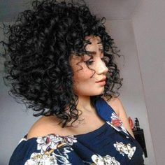 64 Wavy Bob Hairstyles That Look Gorgeous And Stunning - Hairstyles Trends Blonde Curly Hair, Curly Hair Cuts, Short Curly Hair, Curly Hair Styles, Natural Hair Styles, Wavy Bob Hairstyles, Corte Y Color, Hair Inspiration, My Hair