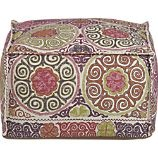 Marrakesh Pouf (foot rest) I am seriously buying this for the formal living room!
