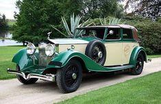 1934 Rolls Royce Phantom II Continental cabriolet Kellner