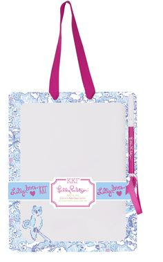 Sassy Sorority will have Kappa Kappa Gamma Lilly Pulitzer dry erase boards in August!
