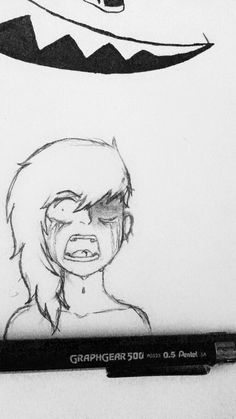 a vent drawing of my new oc i did not too long ago  please don't steal it, repost it without credit, copy it, reference, trace it, claim it as yours, use it for roleplaying, use it as your profile picture on ANY social media, edit it, recolor it, use it as a drawing template, or use it as a oc of yours (like some weird cringey fandoms do by poorly editing and coloring it) cause honestly, I don't feel like dealing with art theft assholes if you'd like to see more of my drawing, feel free to…