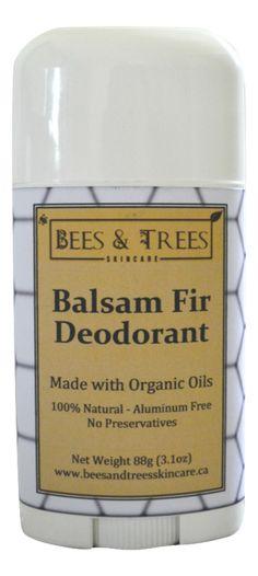 Natural Balsam Fir Deodorant