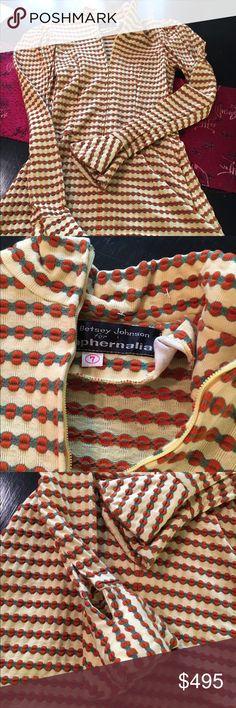 Rare Betsy Johnson for paraphernalia late 60s Vintage collectors mini dress Betsy Johnson for paraphernalia too cute for words Vintage Dresses Mini