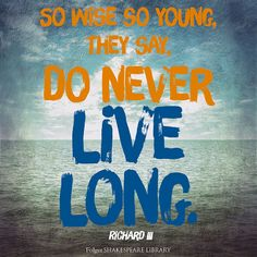 Find this #Shakespeare quote from Richard III at folgerdigitaltexts.org #FolgerDigitalTexts