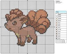 37 - Vulpix by Makibird-Stitching.deviantart.com on @deviantART