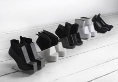iga weglinska conceptual womens footwear collection designboom