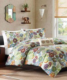 Yellow Carter Comforter Set