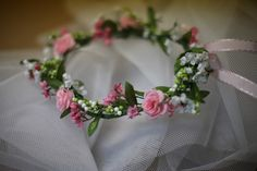 DIY flowergirl wreath - His, Hers and Ours DIY