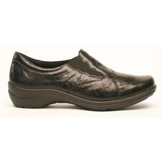 Dress Comfort Slip-On. Scallop Detail With Elastic Trim For A Perfect Fit…