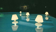 Waterproof Lamps by Hector Serrano
