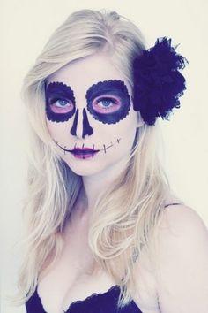 Make up fashion da zombie