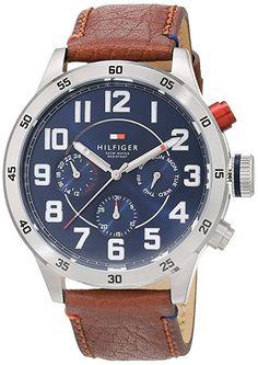 Tommy Hilfiger Watches Herren-Armbanduhr Analog Quarz Leder 1791066: Tommy Hilfiger: Amazon.de: Uhren
