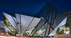Royal Ontario Museum, Toronto (designed by Studio Daniel Libeskind)