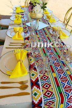 African Wedding Theme, African Print Wedding Dress, Traditional Wedding Decor, African Traditional Wedding, Tsonga Traditional Dresses, Wedding Reception Decorations, Wedding Ideas, Traditional African Clothing, Enchanted Forest Wedding