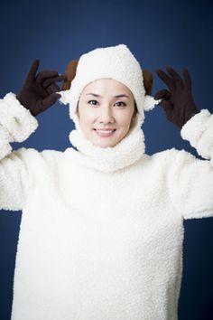 """""""世界一キレイなヒツジ""""女優・吉田羊さんとヒツジについて語ってみた! まさかのコスプレまで披露「私は飢えた羊なんです」"""