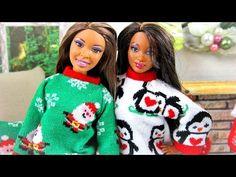 Поделки: Как сшить новогодний свитер для куклы - YouLoveIt.ru