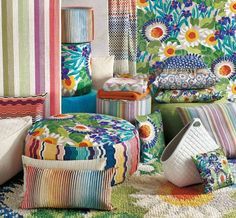 http://www.allmodern.com/Missoni-Home- What are the other fabulous Missoni fabrics, apart from jacaranda T59 pillow in the foreground?