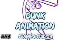 Animação Enterrada #003 (Rascunho) - Drawing Studio Z / アニメーション埋没バスケットボー...