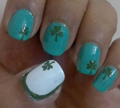 3-leaved Clover by shilpagandotra from Nail Art Gallery