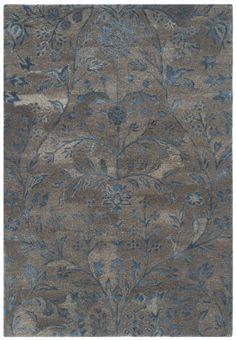 Safavieh Sapphire Sap111a Brown - Blue Area Rug