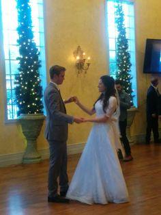 #first dance #bride #groom #married #reception #venue