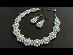 3er set ombligo con acrílico perlas