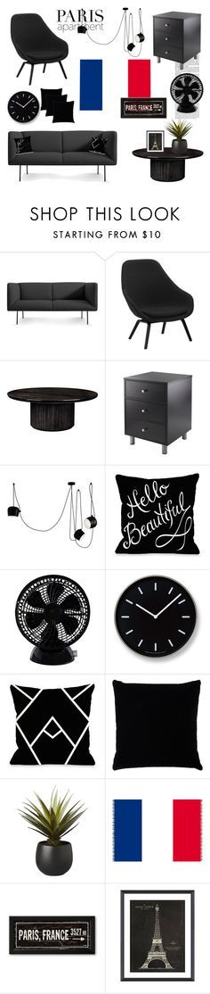 """""""Eiffel Tower"""" by natalia-k13 ❤ liked on Polyvore featuring interior, interiors, interior design, home, home decor, interior decorating, Blu Dot, Gubi, Flos and Keystone"""
