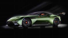 Aston Martin Volcano - speeder with 800 hp