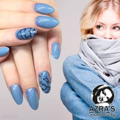 "abc nailstore präsentiert:  Azra's Fashion Day: brick days Nailart ""letters"""