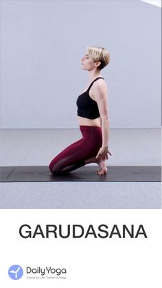 Daily Yoga is a series of Yoga workouts to train different parts of your body, fully supported for Android and iPhone.Comprehensive training for both men and women aims to offer a physical boost-up through regular Yoga exercises. Eagle Pose Yoga, Beautiful Yoga Poses, Free Yoga Classes, Pilates Video, Yoga Mantras, Yoga At Home, Yoga Tips, Yoga Flow, Fun Workouts