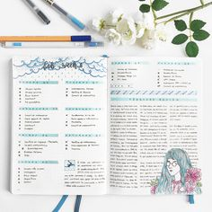 Yu walks us through her dynamic Bullet Journal pages