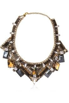 Erickson Beamon Jewelry | Erickson Beamon Mist of Avalon Thick Necklace in Gold | Lyst
