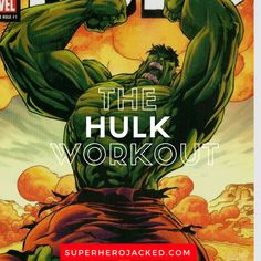 The Hulk Workout Routine: Train like The Incredible Hulk of Marvel Universe with this Hulk Inspired Workout Routine. Think you have what it takes? Hero Workouts, Fit Board Workouts, Gym Workouts, At Home Workouts, Workout Routines, Workout Board, Training Workouts, Workout Exercises, Boxing Workout