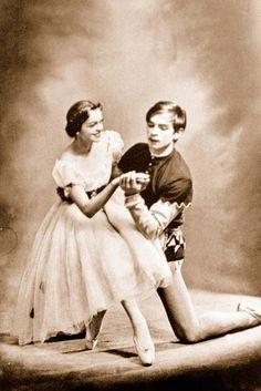 Nureyev and Kolpakova in Giselle.