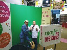 Photobooth sur le stand de la Confédération Nationale de la Boulangerie Pâtisserie Française (Salon Europain 2016)