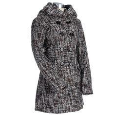 Tweed Coat with Hood #WarmCoatsWarmHeartsPin