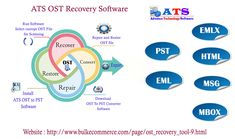 ATS OST recovery tool is easily repair corrupt Exchange Outlook OST file with recover OST data and Convert into OST to PST file with other multiple file formats like MSG, EML, EMLx, MBOx, and HTML file formats.