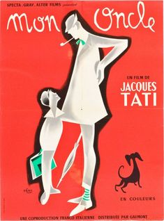 Mon Oncle that conveyed the image of the director's alter ego, Mr. Hulot