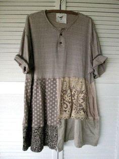 Eco upcycled clothing Tattered