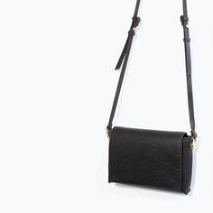 ZARA - WOMAN - BASIC MESSENGER BAG